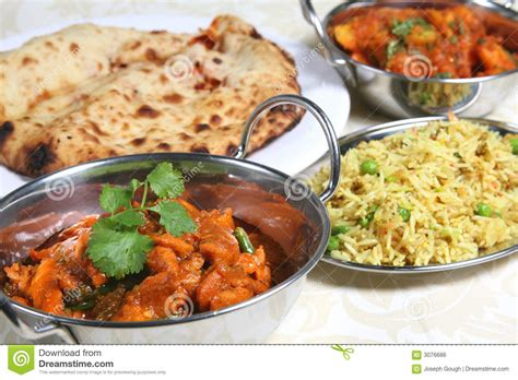 indian curry dinner indian curry meal food royalty free stock image image