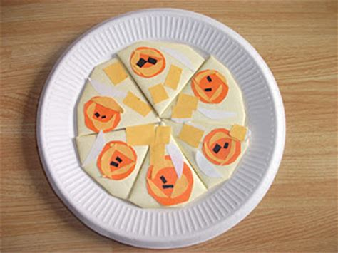 Origami Pizza - origami pizza family crafts
