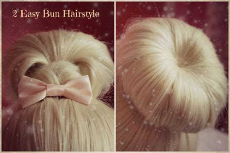 how to make easy hairstyles on youtube 2 easy hairstyles christmas holiday hair tutorial cute