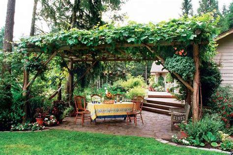Arbor For Patio Patio Grape Arbor Garden Ideas