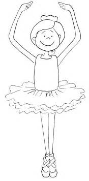 ballet color pages a ballet dancer coloring pages