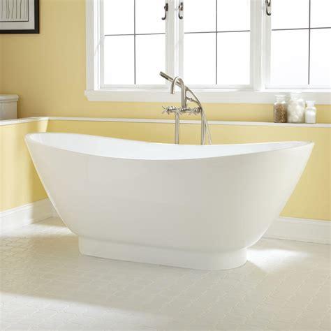 curved bathtubs curved acrylic tub signaturehardware com