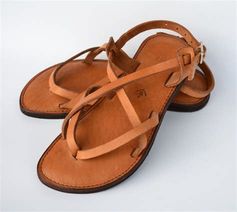 leather womens sandals leather sandals s sandals camel sandals brown