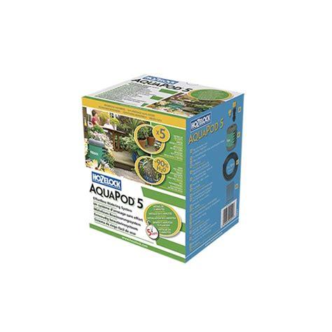 irrigazione a goccia vasi kit microirrigazione aquapod 5 vasi hozelock g09760000