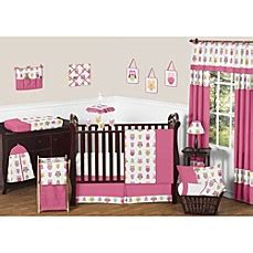 Pink Owl Crib Bedding Sweet Jojo Designs Happy Owl Crib Bedding Collection In Pink Buybuy Baby
