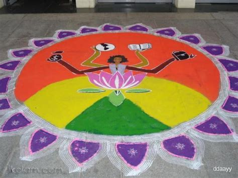 Themes Based Rangoli | rangoli thematic rangoli regular www ikolam com