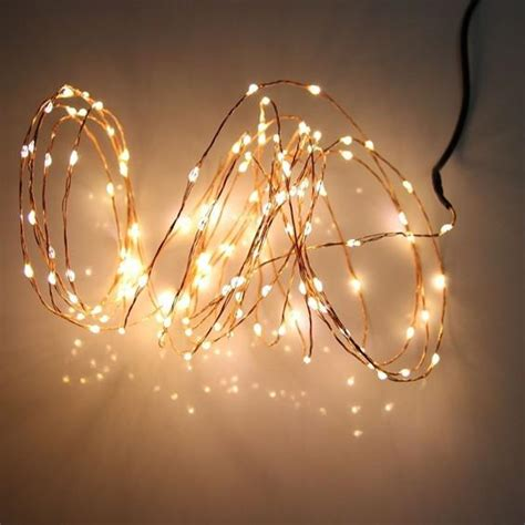 copper string lights ideas copper wire holiday light 10m 100 led energy string fairy