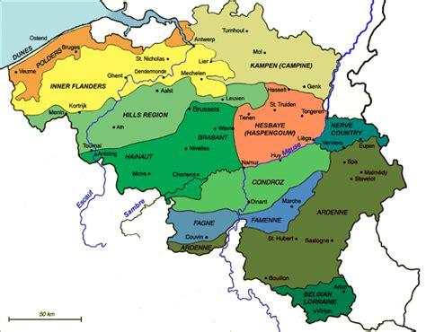 belgium regions map belgium elevation map