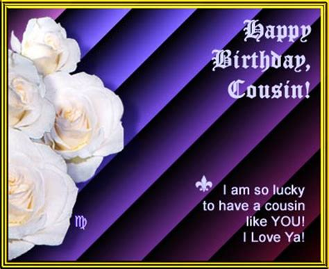 Happy Birthday Wishes To A Cousin Gorgeous Happy Birthday Cousin Quotes Quotesgram