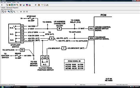 send   wiring diagram   tcc circuit   vehicle    gmc