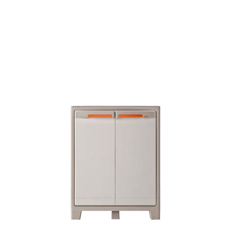 Armoire Spaceo by Armoire Basse R 233 Sine 2 Tablettes Spaceo Premium L 80 X H