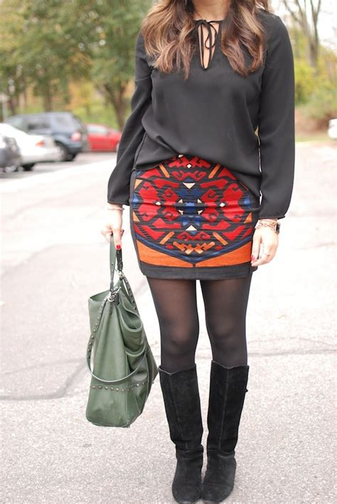 Combine Skirt 132 best how to combine skirts tights and boots images on thighs fashion boots and