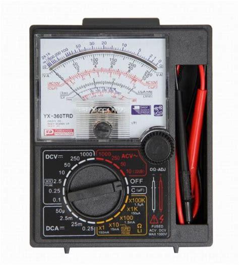 Multimeter Heles Yx 360 Trd analog multimeter and voltmeter ac dc yx 360trd price