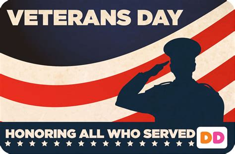 Dunkin Donuts Gift Card Promotion - dunkin donuts rolls out virtual gift card via mobile app for veteran s day promotion