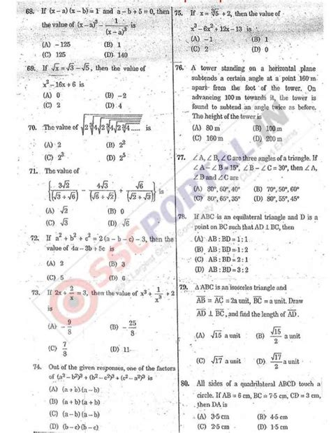 english pattern in ssc cgl ssc cgl tier 2 question paper 2018 2019 studychacha