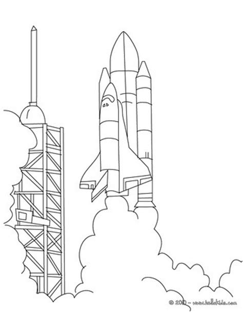 rocket launch coloring page nasa space rocket drawings pics about space