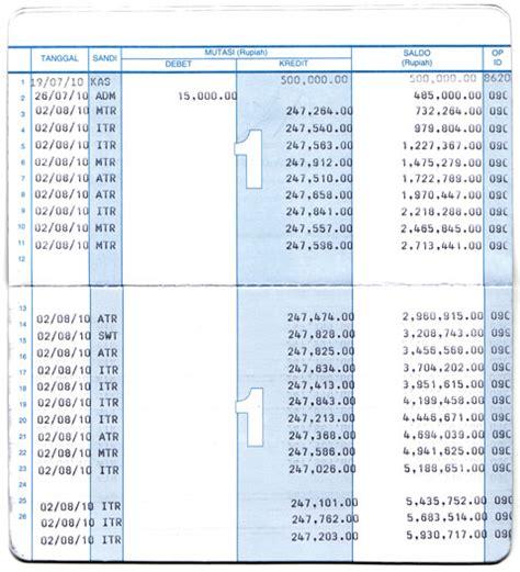 format buku tabungan bank bagaimana anda bisa mendapatkan puluhan juta rupiah dengan