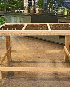 build  portable salad table