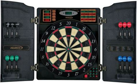halex electronic dartboard with cabinet halex 64469 barrington with molded cabinet 16 player