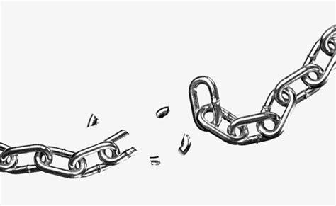 cadenas rotas en vector una cadena rota cadena fractura metal imagen png para