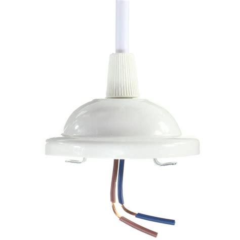 e27 white ceiling pendant bulb l holder socket light