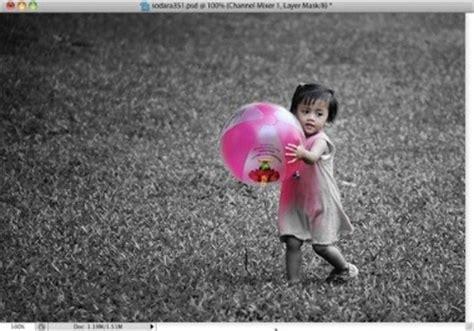 Seri Belajar Sekejap Belajar Sendiri Edit Foto Digital Dengan Pixlr trik photoshop membuat efek selective color dengan photoshop cs4