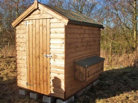 Chicken Sheds by Chicken Shed With Nesting Boxes Made By West Lancs Sheds