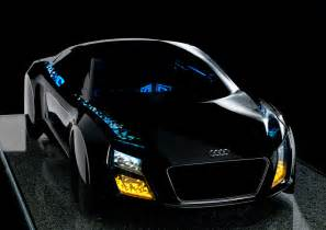audi s new automotive lighting technologies at ces 2013