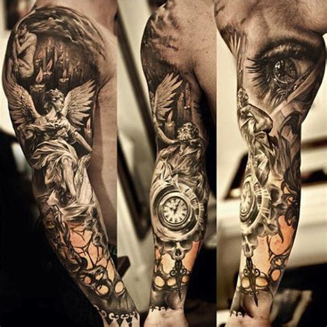 tattoo black and grey angel black and grey angel sleeve tattoo angel tattoo