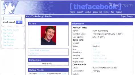 fb old mari lihat perubahan facebook dari tahun 2005 sai