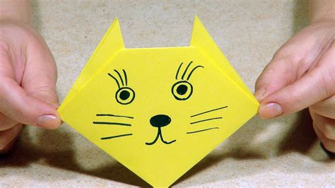 Origami For 4 Year Olds - origami for origami cat