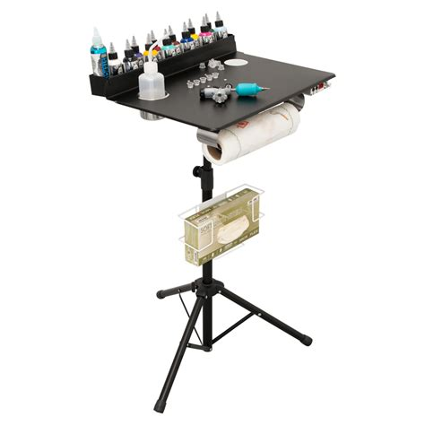 tattoo workstation portable workstation studio compact stand table