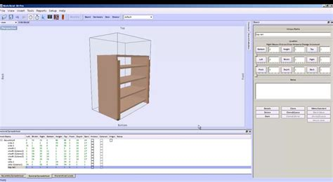 bookcase design software make and design a bookcase with sketchlist3d