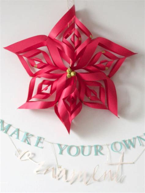 How To Make Paper Decorations At Home - how to make ornaments hgtv design