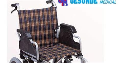 Kursi Roda Gesunde kursi roda alumunium 907lj ban hidup rem depan belakang toko medis jual alat kesehatan