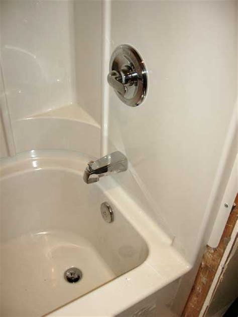 sterling bathtub faucet sterling accord bathtub installation with pictures