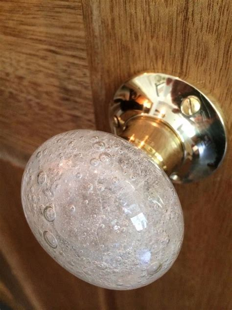 Beautiful Knobs by Beautiful Pair Of Large Glass Mortice Door Knobs