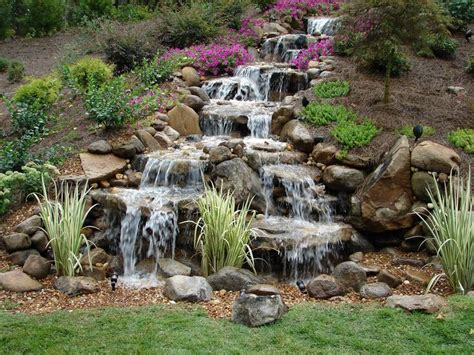 backyard waterfall tips to get the best backyard waterfalls decoration channel