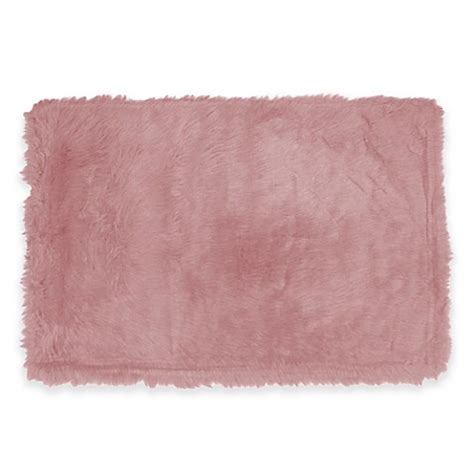 Light Pink Bathroom Rugs Rugs Flokati Rug In Light Pink Bed Bath Beyond