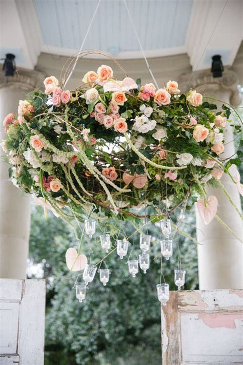 Flower Chandeliers Wedding Wednesday Floral Chandeliers Flirty Fleurs The Florist Inspiration For
