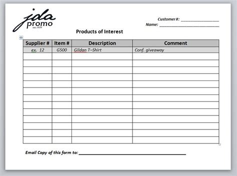Get The Most Out Of Attending A Trade Show Jda Promo Trade Show Lead Sheet Template