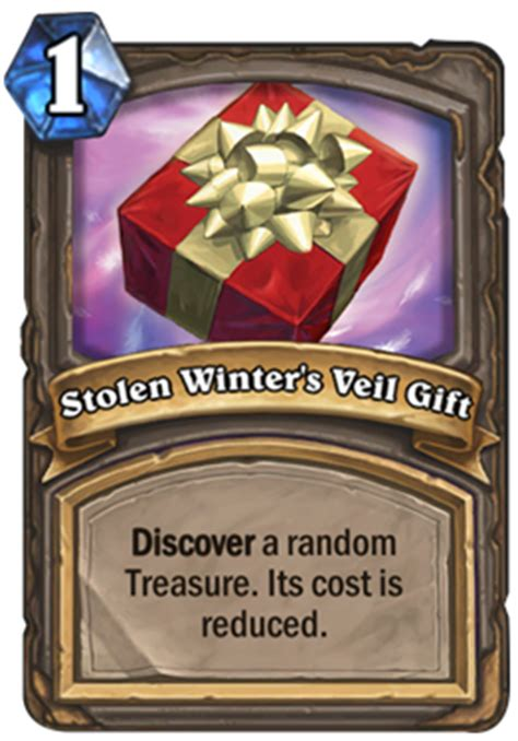 Stolen Gift Cards - stolen winter s veil gift hearthstone card