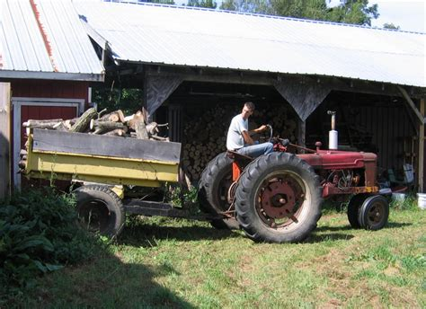 Hay Rack Log Trailer by Ash For Hay Rack Yesterday S Tractors