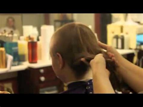 female long to clippered haircuts buzz cut for a woman in barbershop youtube