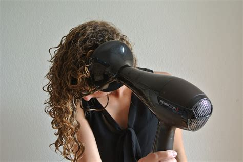 Hair Dryer Big Diffuser how to curly hair justcurly