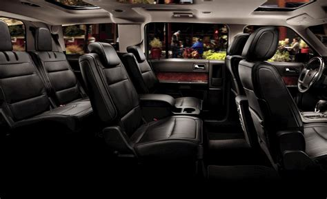 Ford Flex Interior Photos by Car And Driver