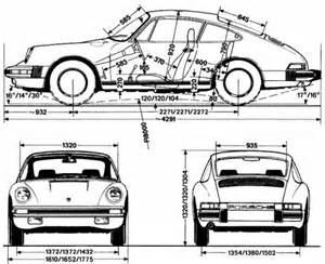 Porsche 911 Dimensions The Blueprints Blueprints Gt Cars Gt Porsche Gt Porsche