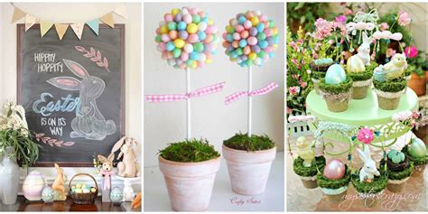 How To Make Easter Decorations For The Home by 20 Diy Easter Decorations To Make Easter