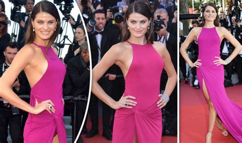 Epic Wardrobe by Isabeli Fontana Suffers Epic Wardrobe At Cannes News Showbiz Tv