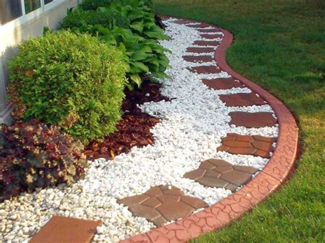 Easy Garden Bed Ideas 18 Simple And Easy Rock Garden Ideas